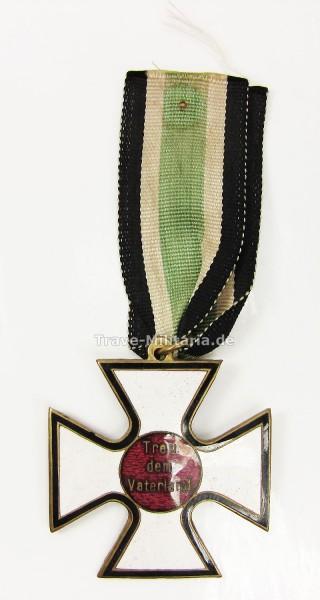Deutscher Volksorden Deutsches-Bekenntniskreuz 2. Klasse mit geschwungenen Kreuzarmen