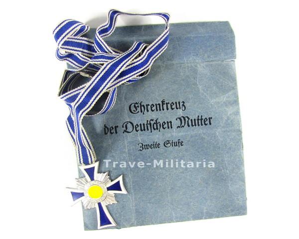 Ehrenkreuz der Deutschen Mutter in Silber in Verleihtüte