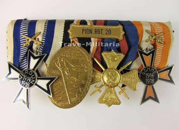 Ordenspange Pionier-Regiment 20