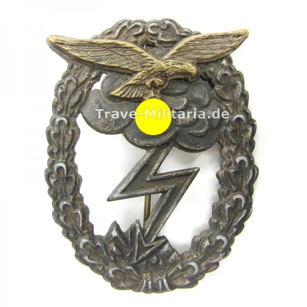 Erdkampfabzeichen der Luftwaffe 2-teilig
