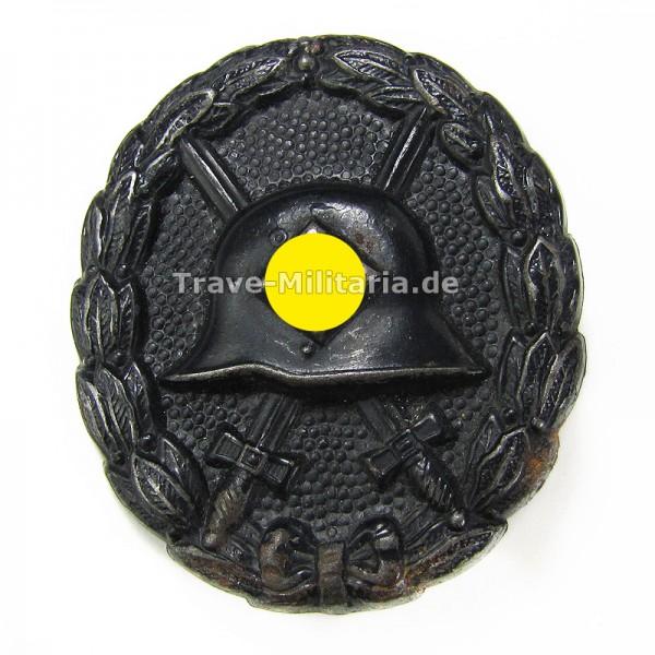 Verwundetenabzeichen in Schwarz 1. Form