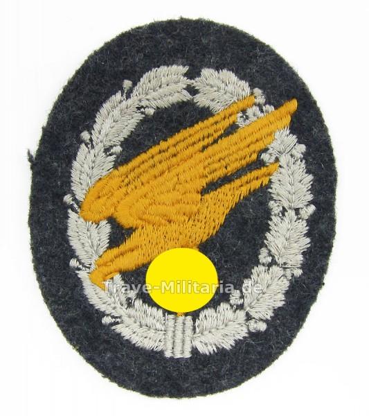 Fallschirmschützenabzeichen in Stoffausführung