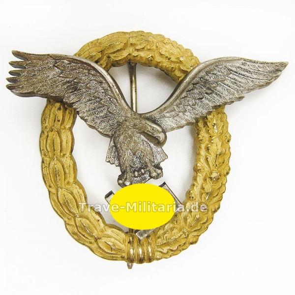 Gemeinsames Flugzeugführer- und Beobachterabzeichen - FLL - Buntmetall