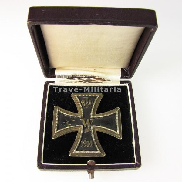 Eisernes Kreuz 1. Klasse 1914 im roten Etui