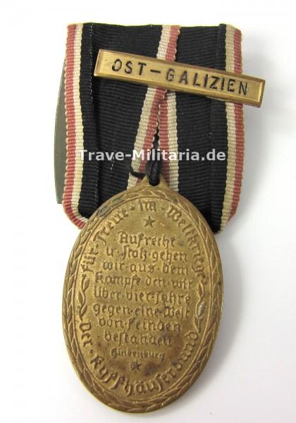 """Kyffhäuser-Kriegsdenkmünze mit Gefechtsschild """"Ost-Galizien"""""""