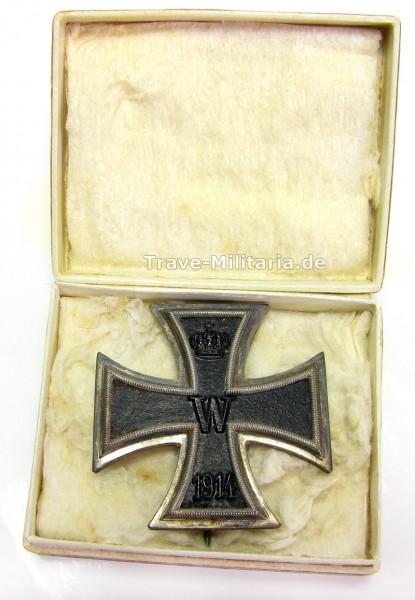 Eisernes Kreuz 1. Klasse von 1914 im Pappetui