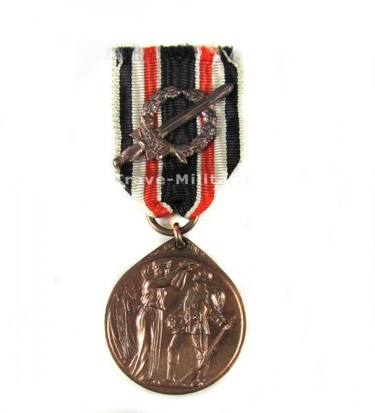 Deutschen Ehrendenkmünze des Weltkrieges mit Kampfabzeichen