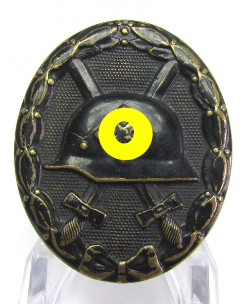 Verwundetenabzeichen in Schwarz Buntmetall