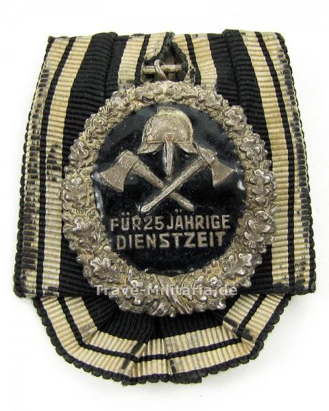 Einzelspange Feuerwehr-Ehrenzeichen des Preußischen LV für 25 Jahre 2. Form