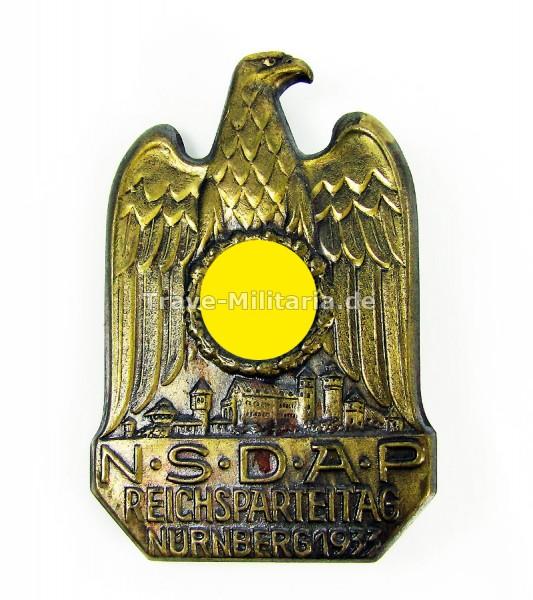 Abzeichen NSDAP Reichsparteitag in Nürnberg 1933