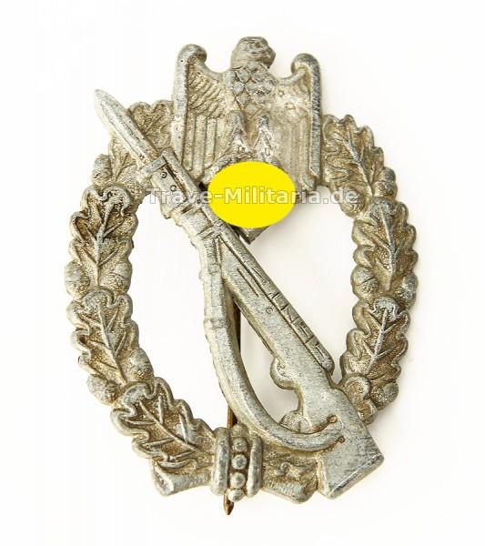 Infanteriesturmabzeichen in Silber - seltene 4 Nieter Variante