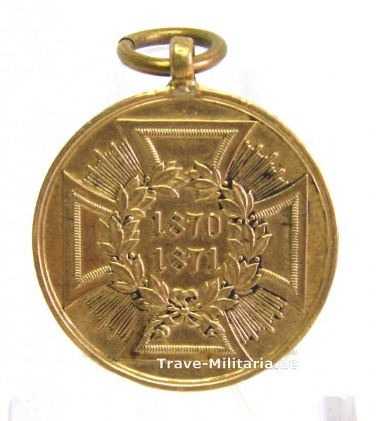 Preußen Kriegsdenkmünze 1870/71 für Kämpfer