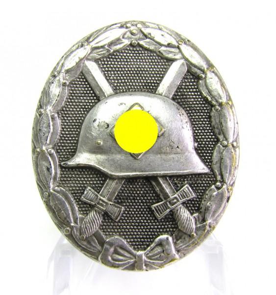 Verwundetenabzeichen Silber Hauptmünzamt Wien Buntmetall