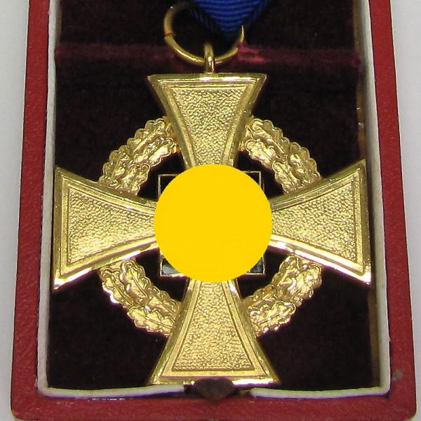 Treuedienst Ehrenzeichen 1. Stufe für 40 Jahre im Etui Deschler