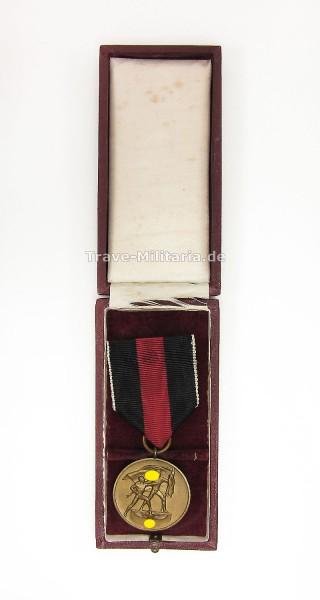 Medaille zur Erinnung an den 1. Oktober 1938 im Etui