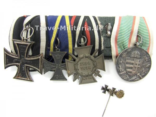 Ordenspange Braunschweig mit 3er Miniatur