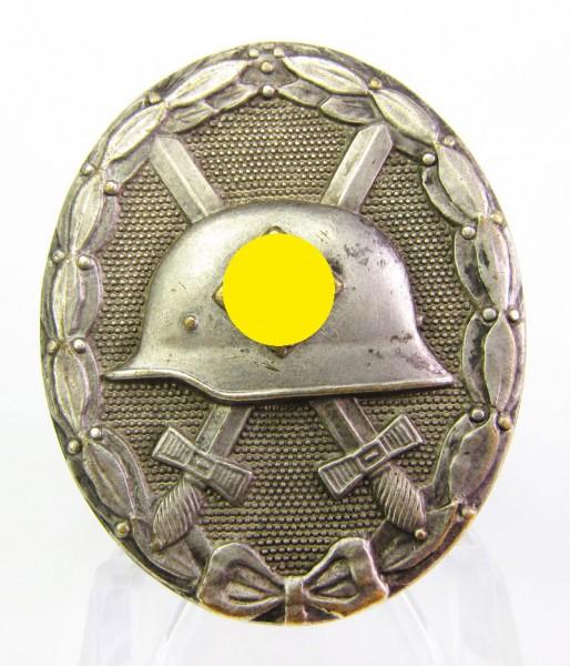 Verwundetenabzeichen Silber, Hersteller 30, Buntmetall