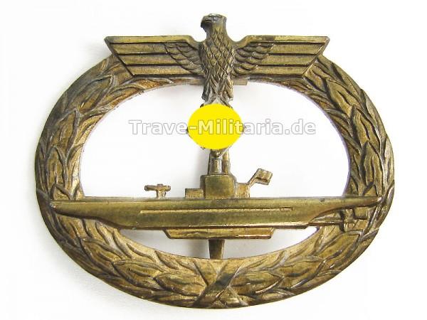 U-Bootkriegsabzeichen 1939 aus Buntmetall