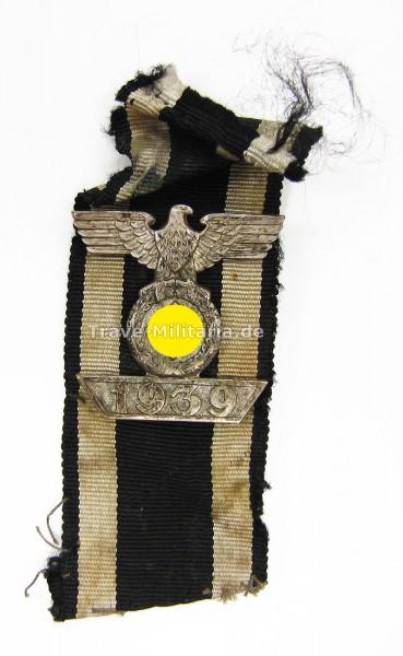 Wiederholungsspange 1939 zum Eisernen Kreuz 2. Klasse