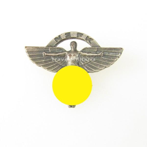 seltenes Zivilabzeichen NSFK mit Trägernummer