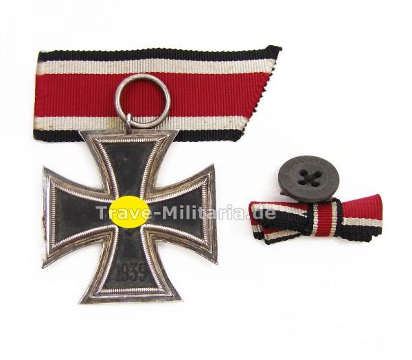 Eisernes Kreuz 2. Klasse mit Band und Knopfloch-Mini