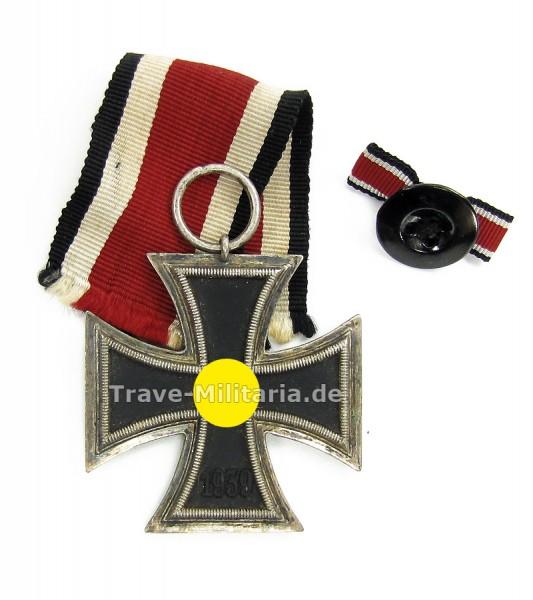 Eisernes Kreuz 2. Klasse mit Knopflochdekoration