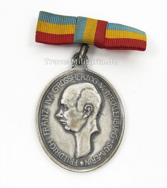 Erinnerungsmedaille 100 Jähriges Bestehen der Mecklenburgischen Artillerie 1813-1913
