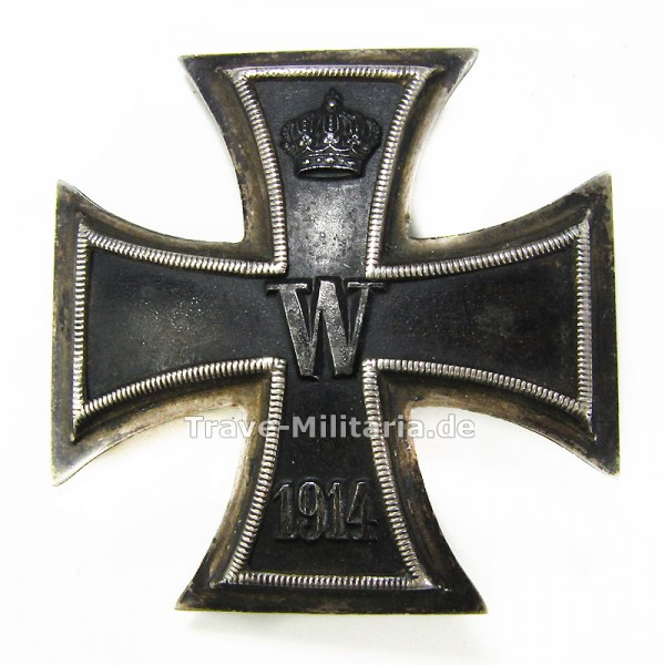 Eisernes Kreuz 1. Klasse 1914 900er Silber