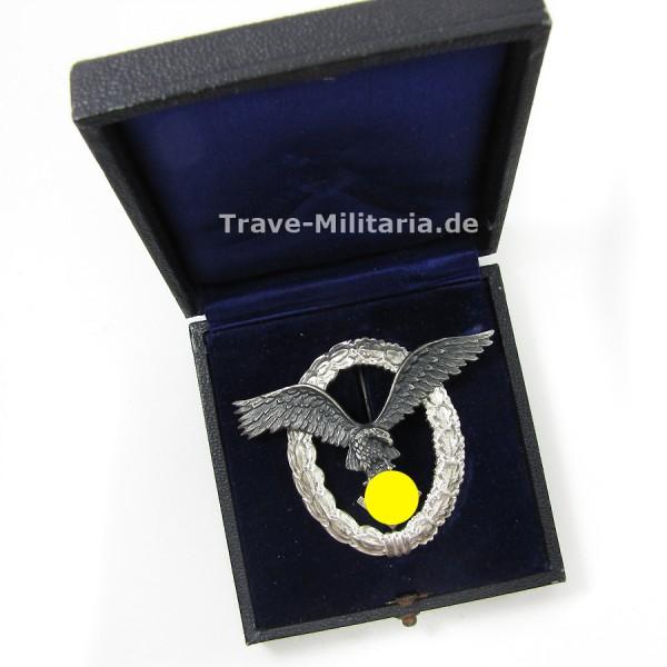 Flugzeugführerabzeichen der Luftwaffe im Etui Hersteller Assmann