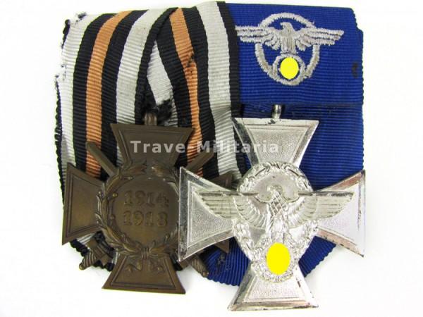 2er Ordenspange eines Polizisten