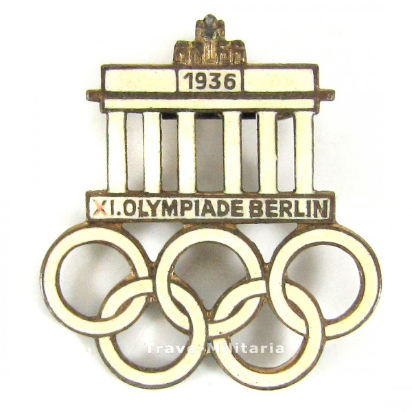 Anstecker XI. Olympiade Berlin 1936