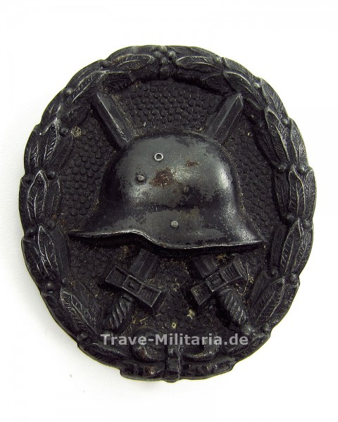 Verwundetenanzeichen 1918 in Schwarz