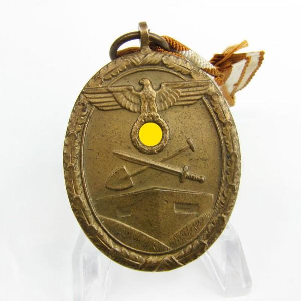 Deutsches Schutzwall - Ehrenzeichen am Bande