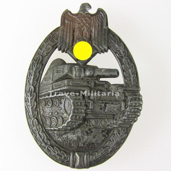 Panzerkampfabzeichen in Bronze Hohlprägung