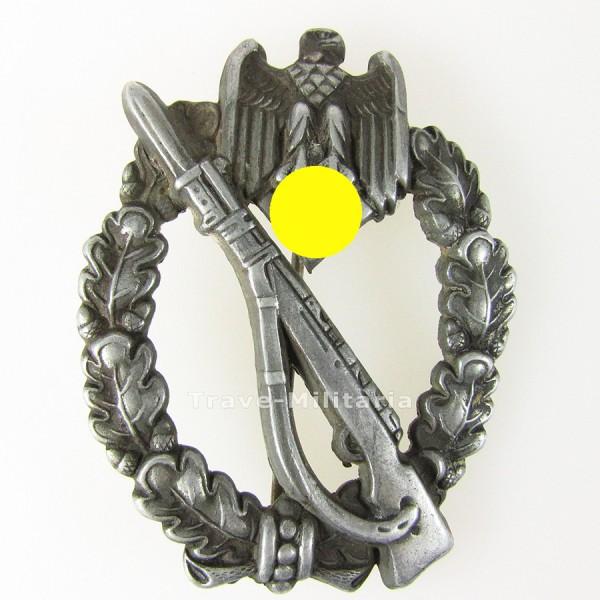 Infanteriesturmabzeichen in Silber Hersteller Assmann