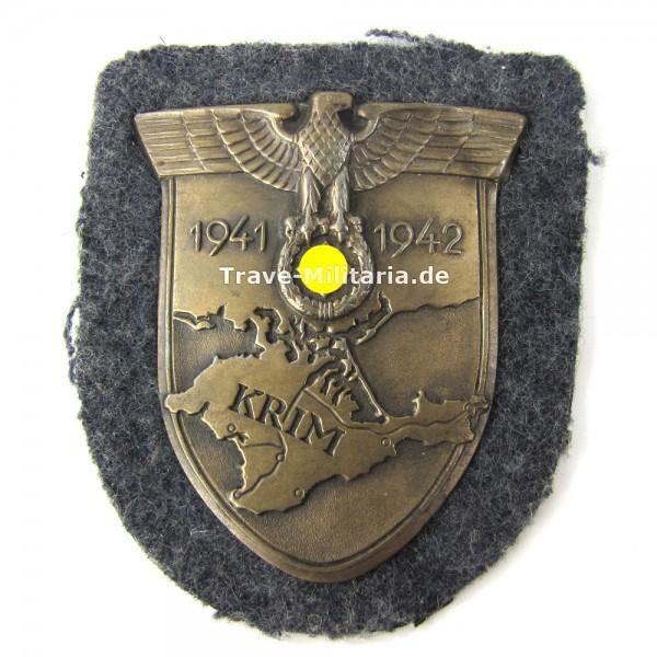 Krimschild auf Luftwaffenstoff