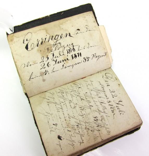 Tagebuch aus dem Krieg 1870/71