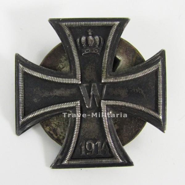 Eisernes Kreuz 1. Klasse 1914 an Schraubscheibe