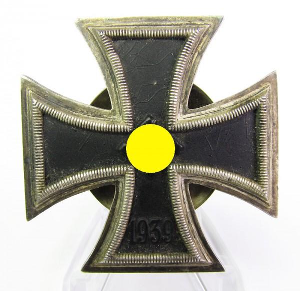 Eisernes Kreuz 1. Klasse 1939 an Schraubscheibe, Hersteller Rettenmaier L59, selten