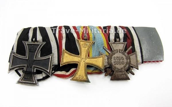 Ordenspange mit fehlenden Auszeichnungen